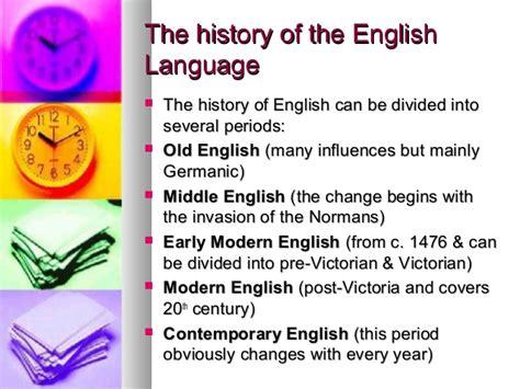 language history language change timeline