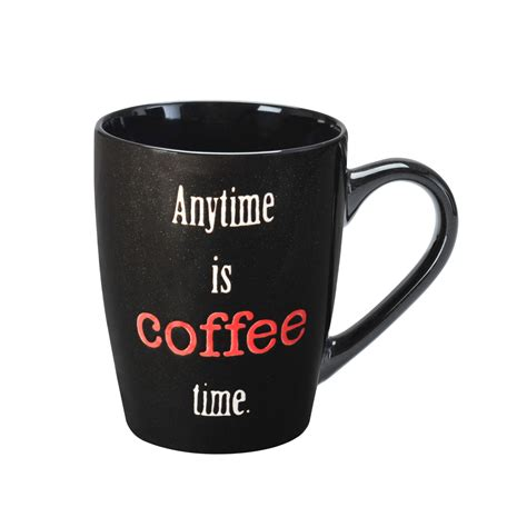 Coffee 4 Me Anytime by Pfaltzgraff 16 Ounce Mug Anytime Is Coffee Time