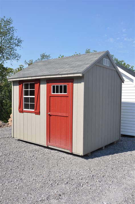Used Plastic Sheds by Used 8x10 Hanover Shed Peak Style Sheds A Frame