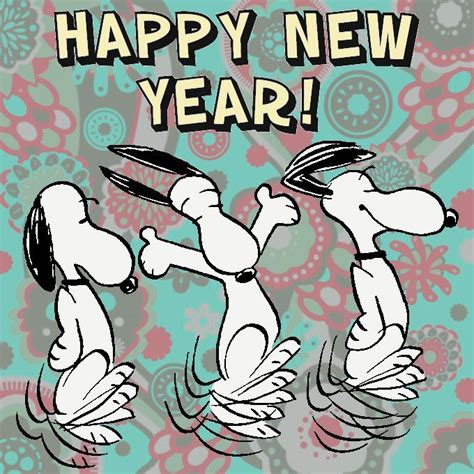the gallery for gt snoopy new year