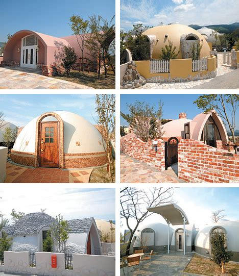 japanese dome house prefab styrofoam dome house futuristic japanese design