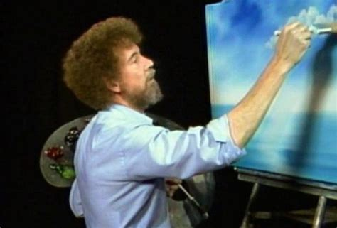 bob ross paintings clouds finally bob ross s painting lesson is on