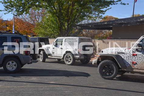 jeep wrangler jl exclusive photos of the 2018 jeep wrangler jl in moab