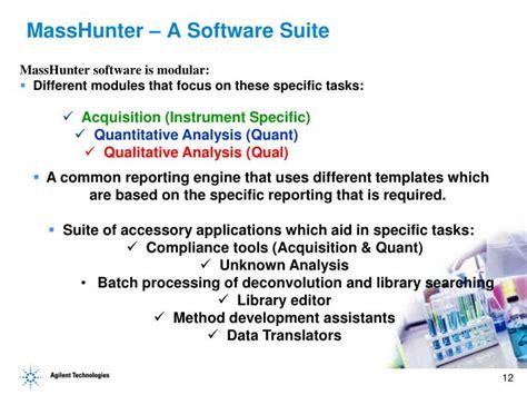 Masshunter Report Template Ppt Masshunter Data Analysis On Single An