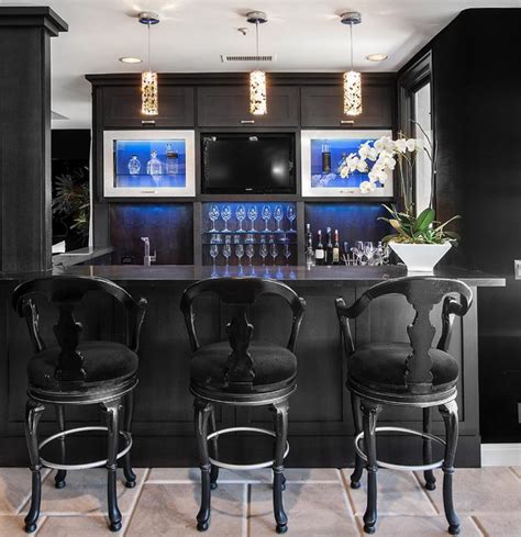 home bar interior design sjc dramatic remodel contemporary home bar orange
