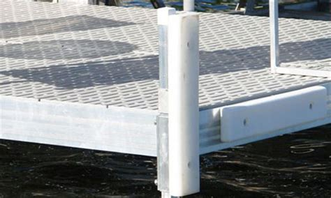 boat lift post bumpers dock accessories gallery beach king dock lifts