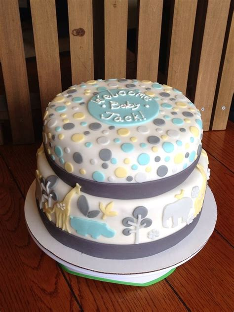 Unisex Baby Shower Cakes by Pin By Nikolaidi On Foods Style