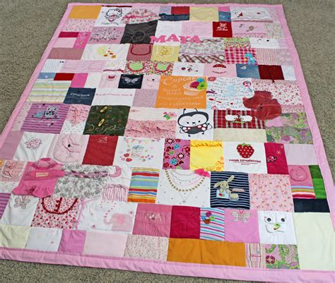 Quilts From Baby Clothes by Baby Clothes Quilt Pictures T Shirt Quilt Pictures