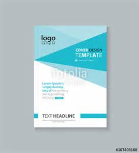 Cover And Profile Template quot business cover design template brochure annual report