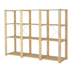 gorm 3 sections shelves ikea