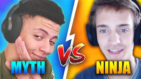 fortnite total players vs myth the best fortnite player master builder vs