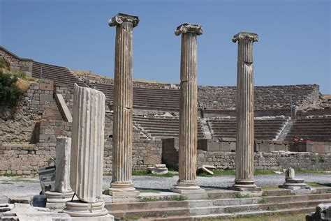 Nice Church Of Ephesus History #8: Theatre_at_the_Asclepion%2C_Pergamum.jpg