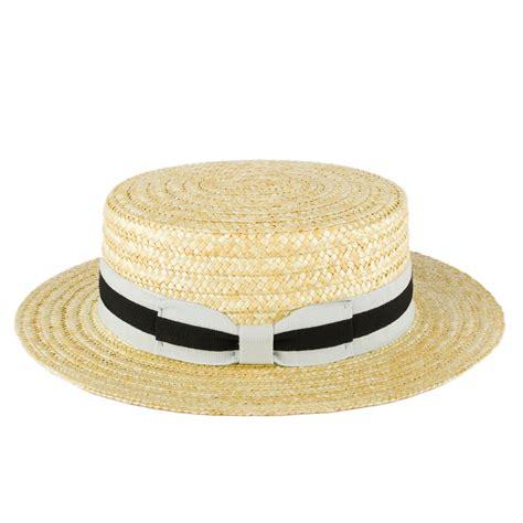 Handmade Straw Hats - zakira straw boater hat handmade in italy