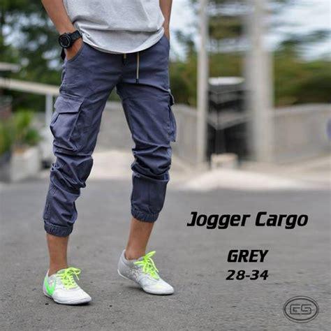 Celana Jogger Cargo Celana Pria Celana Panjang Cargo Jogger Pdl jual celana jogger cargo panjang pdl gunung