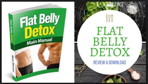 Flat Belly Detox System by The Flat Belly Detox Guide By Josh Houghton Does It Work