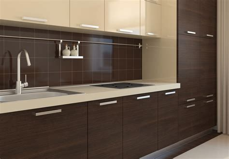Wenge Kitchen Cabinets by Nowoczesne Kuchnie Warszawa Bemowo