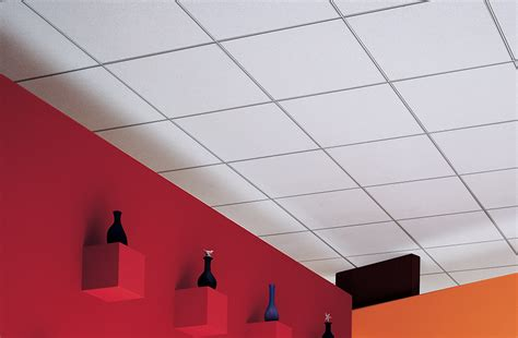 Covering Acoustic Ceiling Tiles by Acoustical Ceiling Panels Olympia Micro Climaplus