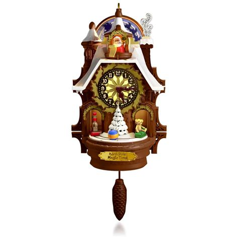 goodnight lights mouse ornament 2015 santa s magic cuckoo clock hallmark keepsake ornament