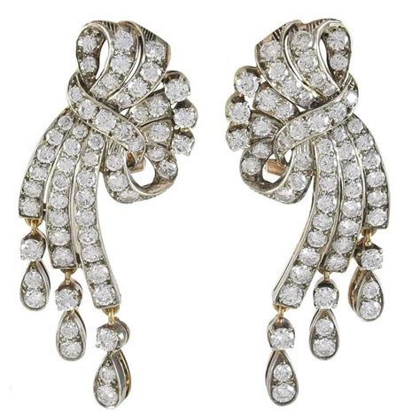 Gold Ribbon Earring gold ribbon earrings for sale at 1stdibs