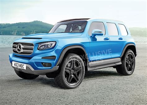 Mercedes G News new mercedes glb to become a baby g wagen auto express