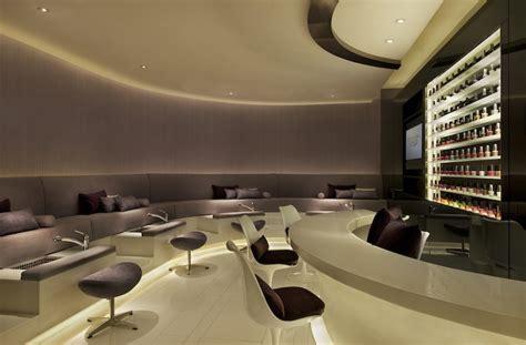 nail salon interior design miraspa at the mira hotel sassy hong kong