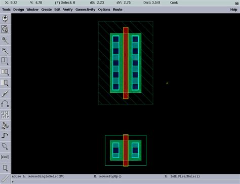 online design layout editor ee4321 vlsi circuits cadence virtuoso layout information