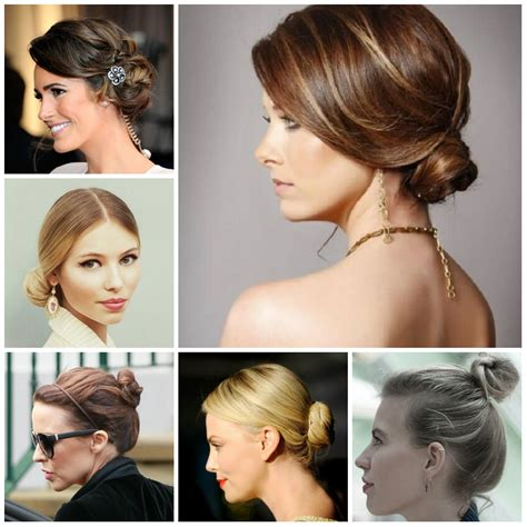 Simple Bun Hairstyles by Simple Bun Hairstyle For Hair Hairstyles