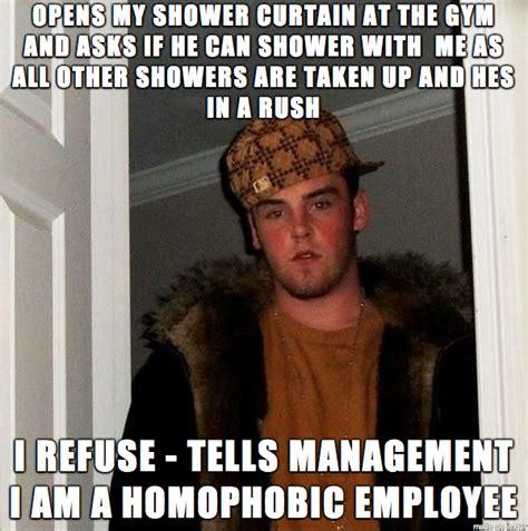 Homophobic Meme - i am not homophobic but i am straight meme guy