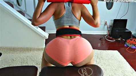 big booty squat challenge big butt squats squat spong i belt challange youtube