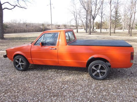 volkswagen rabbit custom 1982 volkswagen rabbit truck for sale