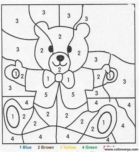dibujos de navidad para colorear por numeros colorear por numeros colorear numeros pinterest