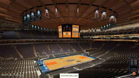 section 209 msg madison square garden seating chart detailed seat