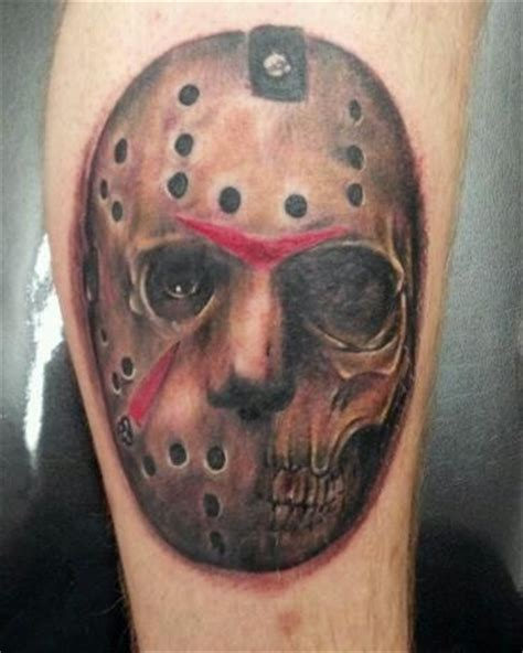 jason mask tattoo jason voorhees by matt riddle who s your donny