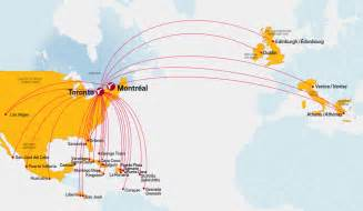 map my route canada air canada inaugurates new non stop vancouver