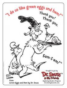 dr seuss characters colouring pages