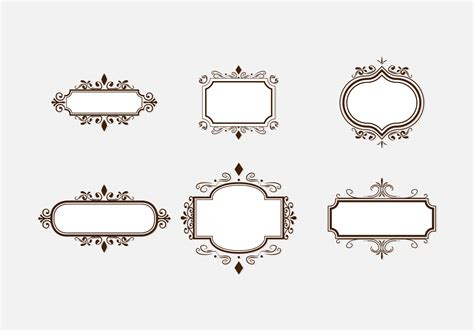 Cadre Photo Vintage by Brown Vintage Cadre Free Vector Stock
