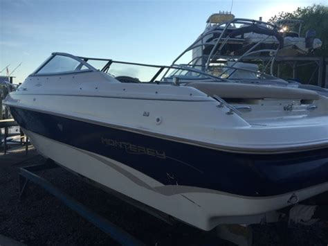 monterey boats specs 1996 monterey boats 210 montura cuddy for sale in