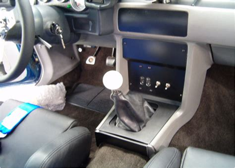 Foxbody Interior by Rod Fabrications Custom Aluminum Panels For Fox 79 93 Mustang
