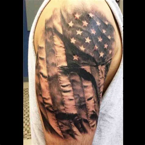 black and white flag tattoo american flag black and white amazing