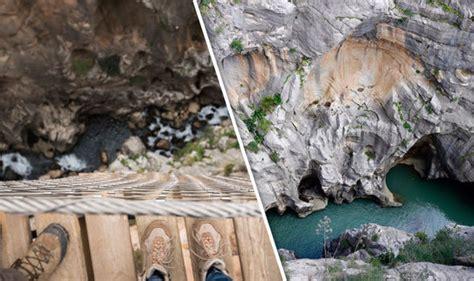 el cerrajero del rey el caminito del rey in spain is the most dangerous path in the world travel news travel