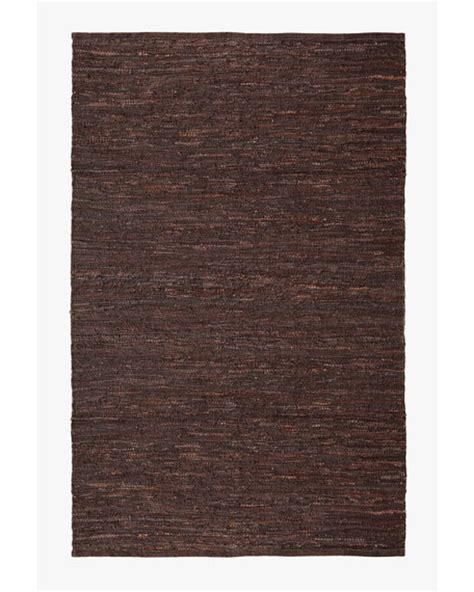 Leather Woven Rug by Woven Leather Rug 8 X 11