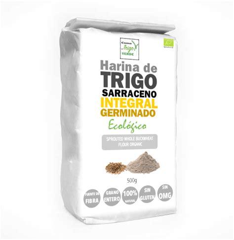 alimentos sin harina de trigo harina de trigo sarraceno integral germinado ecol 211 gico