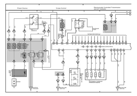 security system 2004 lexus lx on board diagnostic system repair guides overall electrical wiring diagram 2002 overall electrical wiring diagram