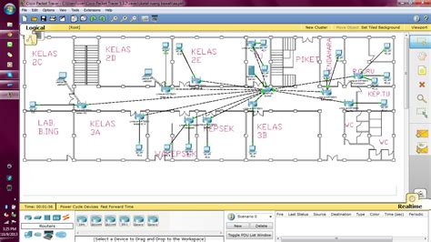 biaya membuat jaringan lan simulasi instalasi jaringan dan biaya dari kabel yang