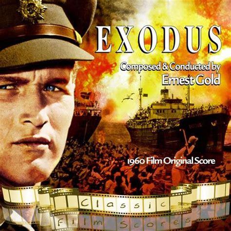 film exodus cast ernest gold conductor exodus 1960 film original score