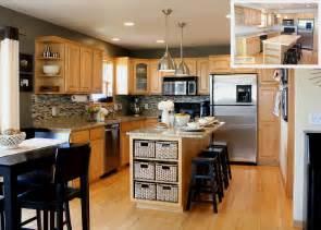 armoire de cuisine couleur erable