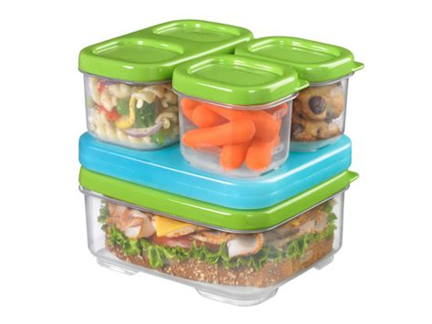 Lunch Storage Containers Rubbermaid Lunchblox Sandwich Kit Review Kiddies Corner
