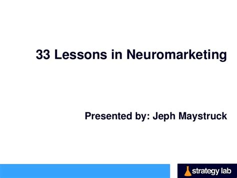 the education of a lessons learned from 33 years in the trenches books 33 lessons in neuromarketing