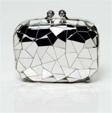 Mirror Clutch Bag by