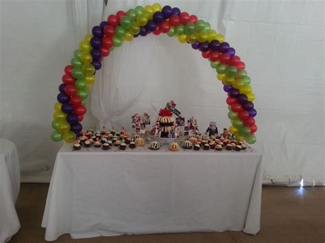 table vallejo ca balloon cake table arch designed by balloon works in